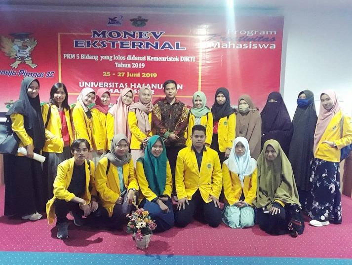 Mahasiswa FSains UNCP Mengikuti Monev Eksternal Program Kreativitas Mahasiswa