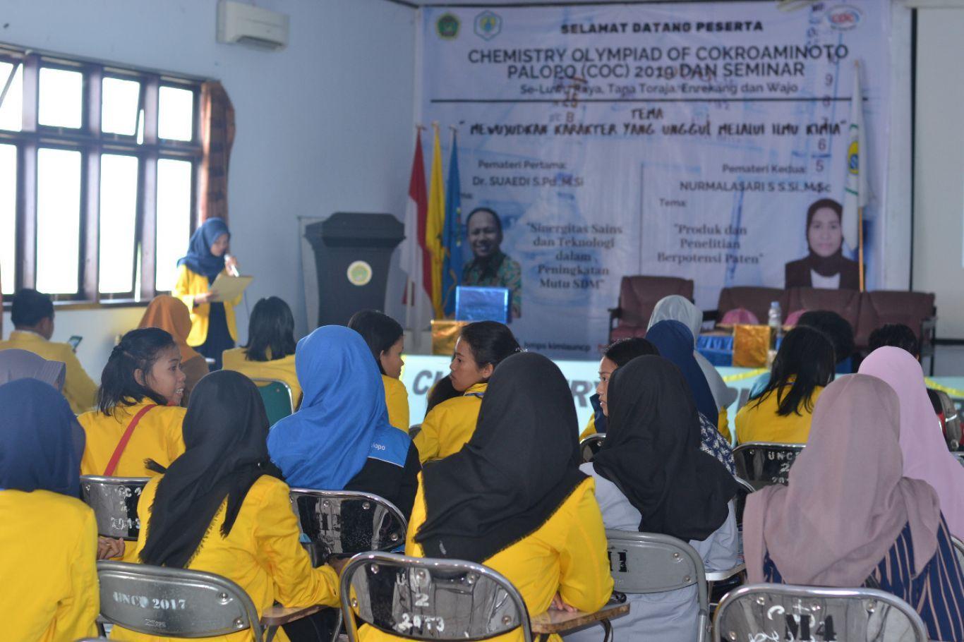 Himpunan Mahasiswa Kimia FSains UNCP Menggelar Chemistry Olympiad of Cokroaminoto Ke-3