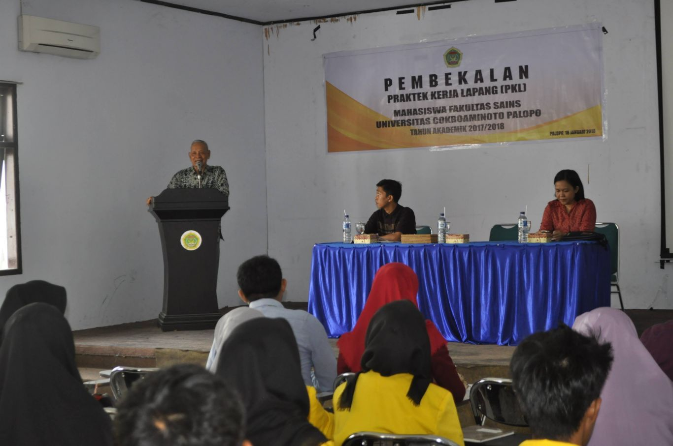 Fakultas Sains UNCP Siap Berangkatkan 132 Mahasiswa PKL di 34 Instansi